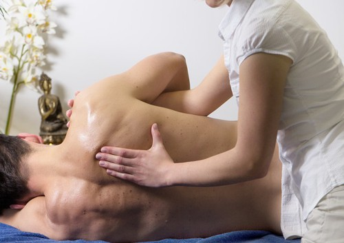 Zentrifugal Massage